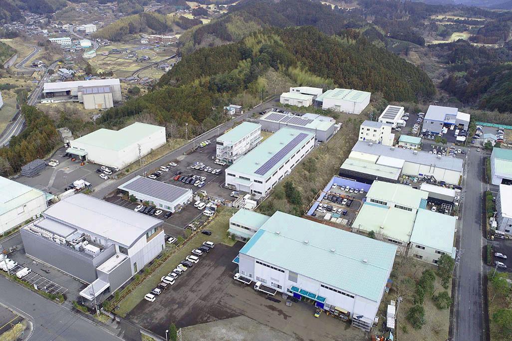 清水工業団地空撮写真